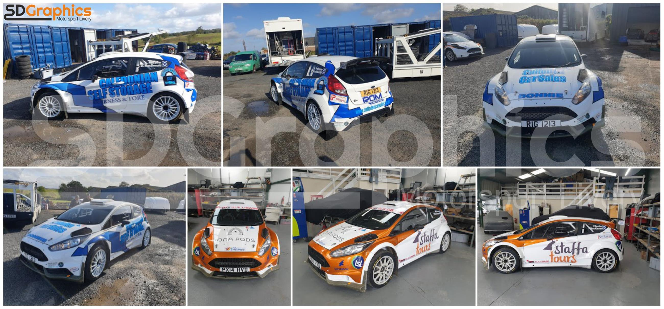 SD Graphics - Car, Vehicle and Motorsport Graphics and Wraps in Scotland